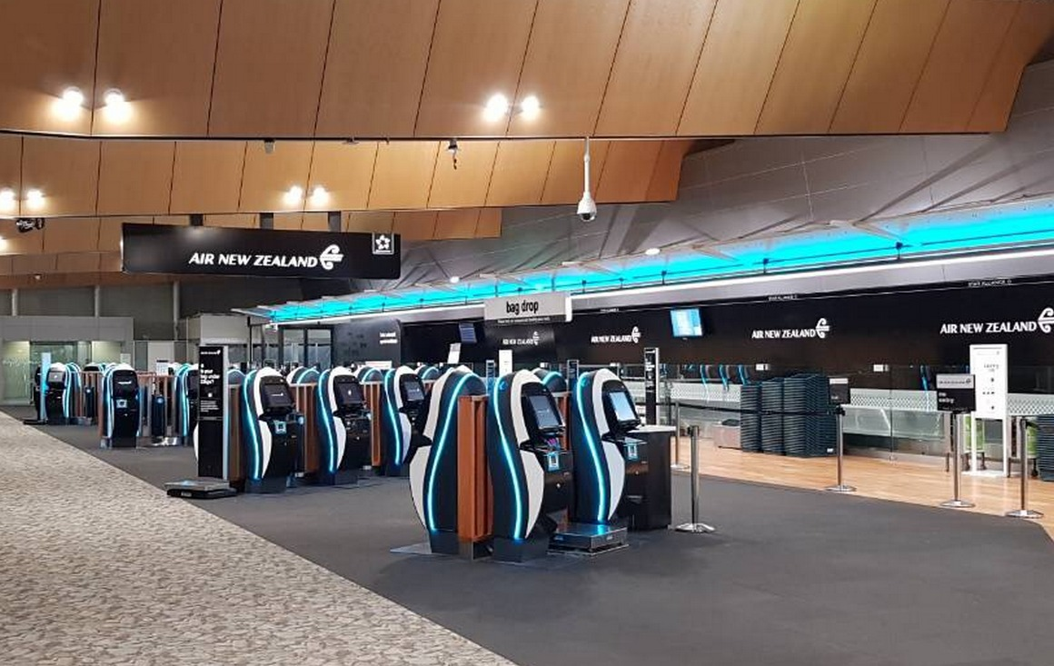 Air NZ - Wellington Airport  |  Check In Area